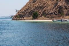 El barco viaja a Komodo Foto de archivo libre de regalías