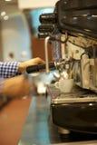 El barista Imagen de archivo libre de regalías