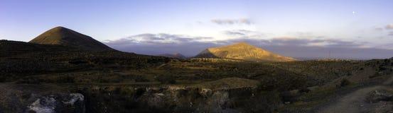 El Barranco de Tenegà ¼ime vid natt Royaltyfri Fotografi