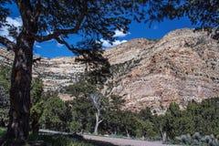 El barranco irlandés es un barranco escénico espectacular de la impulsión en Colorado del noroeste Fotos de archivo libres de regalías