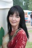 El bashkir en un traje nacional República de Bashkortostan Rusia Fotos de archivo