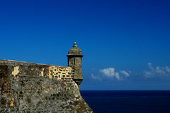 el, bastion w San Juan Zdjęcia Royalty Free