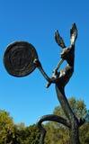 El batería Sculpture Beverly Hills California Imágenes de archivo libres de regalías