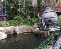 El bathyscaphe en tierra Foto de archivo libre de regalías