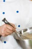 El batir del cocinero Fotografía de archivo libre de regalías