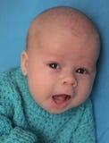 El bebé cantante Foto de archivo libre de regalías