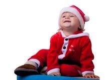 El bebé Papá Noel Foto de archivo