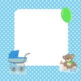 El bebé puntea el fondo imagen de archivo