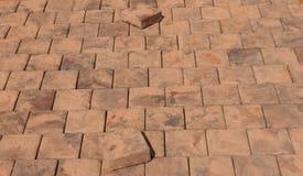 El beeing de las piedras de pavimentación puesto Fotos de archivo libres de regalías