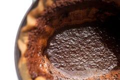 El beeing del café filtrado Imágenes de archivo libres de regalías