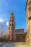 El belfru de St John Baptist Church en Yaroslavl fotografía de archivo libre de regalías