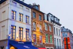 El belga hace compras en la Navidad Fotos de archivo