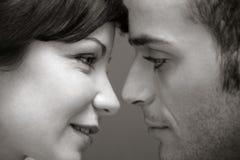 El besarse foto de archivo libre de regalías