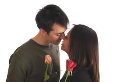 El beso imagen de archivo libre de regalías