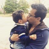 El beso puro de Rinta Fotos de archivo