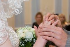 El Betrothing Imagen de archivo libre de regalías