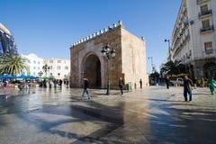 EL Bhar (Porte de Francia o cancello di Bab di mare) Immagine Stock Libera da Diritti