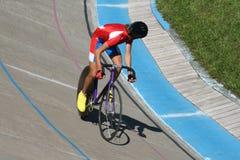 El bicyclist Foto de archivo