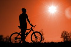 El Biking Foto de archivo