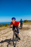 El biking activo de la gente Foto de archivo