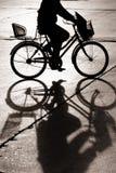 El Biking en bejing foto de archivo