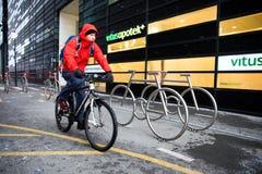 El Biking en Oslo imágenes de archivo libres de regalías