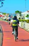 El biking recreativo imagen de archivo