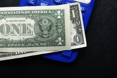 El billete de banco de la moneda Imagen de archivo