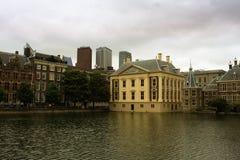 El Binnenhof en el centro de ciudad de La Haya, Fotos de archivo libres de regalías
