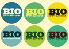 El bio 100% natural Fotografía de archivo