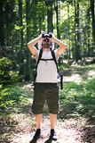El Birdwatching Imagen de archivo