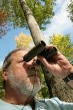 El Birdwatching Foto de archivo