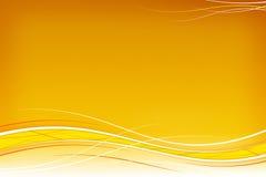 El blanco agita en naranja Imagen de archivo