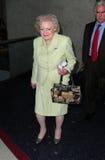 El blanco de Betty de la actriz se considera en LAX fotos de archivo libres de regalías
