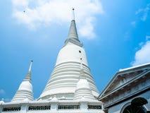 El blanco del templo de Prayun es hermoso foto de archivo libre de regalías