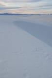 El blanco enarena New México Fotografía de archivo libre de regalías