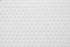 El blanco hizo punto textura de la tela Imagen de archivo