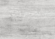 El blanco lavó la superficie de madera suave como textura del fondo Fotos de archivo libres de regalías