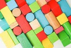 El bloque juega el juego de los niños Imagen de archivo libre de regalías