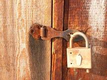 El bloqueo oxidado Imagen de archivo