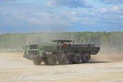 El BM-30 Smerch Imagenes de archivo
