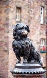 El bobby de Greyfriar en Edimburgo imagen de archivo