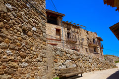 El Boixar village in Tinenca Benifassa of Spain Royalty Free Stock Photography
