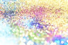 el bokeh Colorfull empañó el fondo abstracto para el cumpleaños, el aniversario, la boda, la Noche Vieja o la Navidad fotografía de archivo