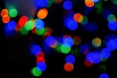 el bokeh texturiza el fondo borroso de las luces coloridas de la ciudad en el fondo borroso trasero de la noche fotos de archivo