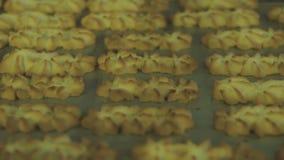 El bollo acabado de las galletas metrajes