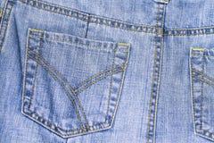 El bolsillo de Jean Imagen de archivo