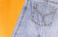 El bolsillo de Jean Imágenes de archivo libres de regalías