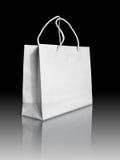 El bolso del Libro Blanco encendido refleja el suelo Fotografía de archivo