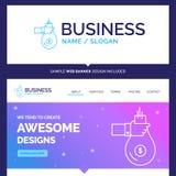 El bolso hermoso de la marca del concepto del negocio, financia, da, invierte libre illustration
